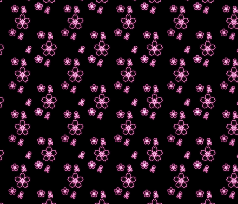 SkullsOnKimono fabric by eerie_doll on Spoonflower - custom fabric