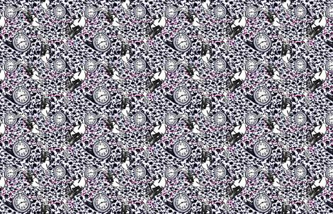 alice_in_rabbit fabric by missjessm on Spoonflower - custom fabric