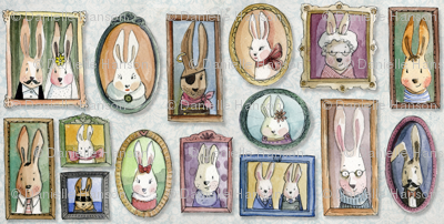 rabbit years-family portraits