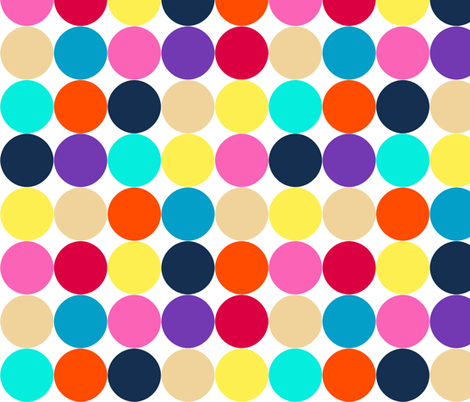macro retro spot fabric by scrummy on Spoonflower - custom fabric