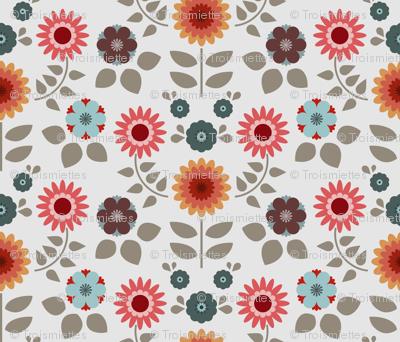 retro flowers 3