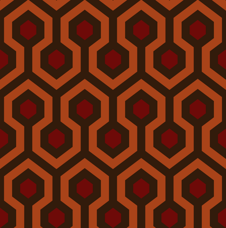 Room 237 fabric by dennisthebadger on Spoonflower - custom fabric