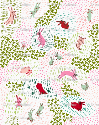 crimson and clover rabbits