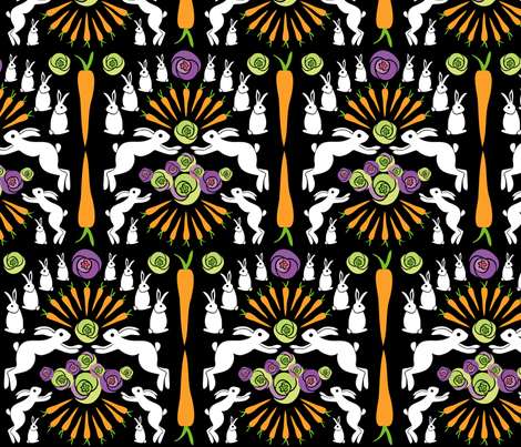 jumpyrabbit fabric by kyleb on Spoonflower - custom fabric