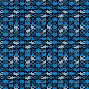 puzzleblau