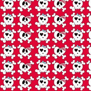 Girly Skulls
