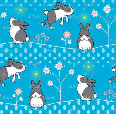 Rabbits Welcome the New Year