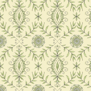 Nature's Damask - Custom Colors