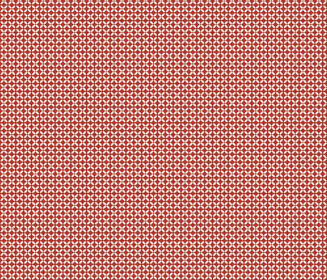 fleurs-rouges fabric by milto42 on Spoonflower - custom fabric