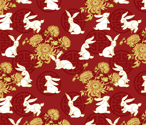 The Fabric of Fortune fabric by jaana on Spoonflower - custom fabric