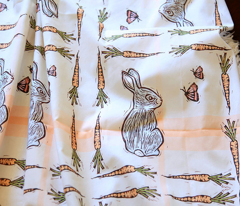 Bunnies on Plaid