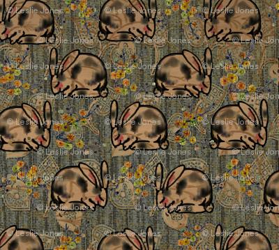 Happy Kimono Bunny