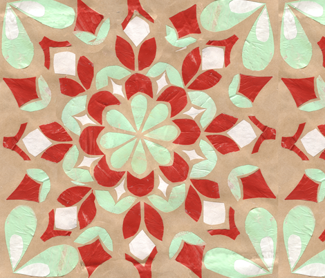 Ornament fabric by ginaglynn on Spoonflower - custom fabric