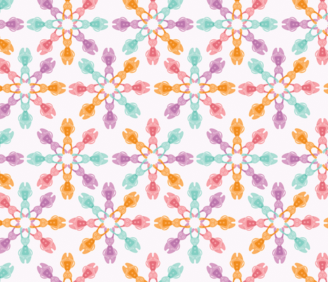 Bubblegum Bunnies fabric by nerida_jeannie on Spoonflower - custom fabric
