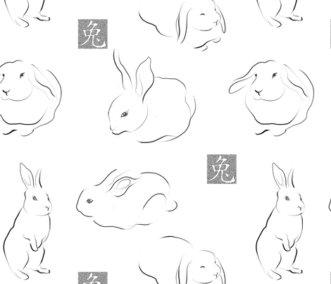 bsketchFINAL fabric by aarem on Spoonflower - custom fabric