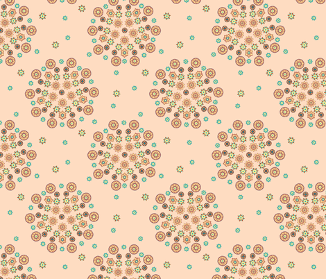 Isabelle Circles fabric by kezia on Spoonflower - custom fabric