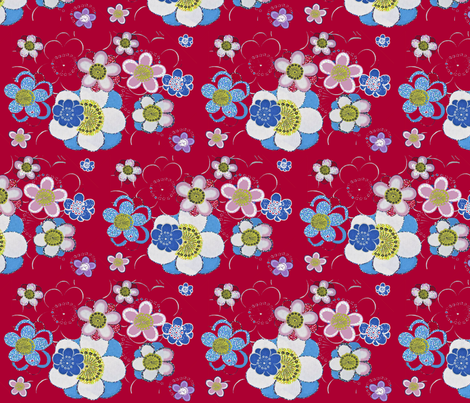 blomsi fabric by snork on Spoonflower - custom fabric
