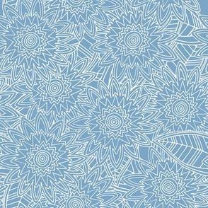 New York blue fleur