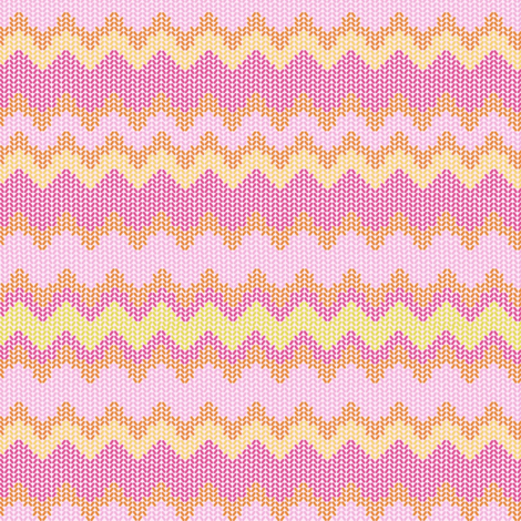ZIGZAG PINKS fabric by trcreative on Spoonflower - custom fabric