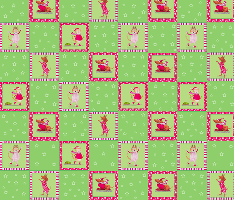 quilt_pattern_Amanda_and_Max fabric by patti_ on Spoonflower - custom fabric