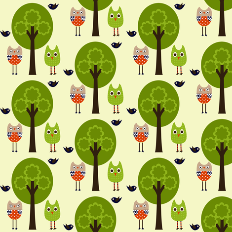 Whimsy Woods  fabric by natitys on Spoonflower - custom fabric