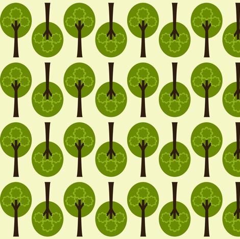 Treetop fabric by natitys on Spoonflower - custom fabric