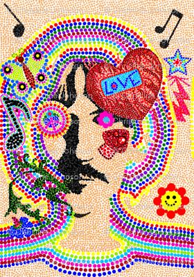 Hippy Love / pointillism