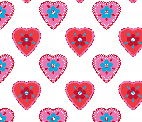 oh_mon_coeur_blanc fabric by nadja_petremand on Spoonflower - custom fabric
