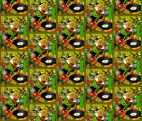 Humpty Got Pushed fabric by whimzwhirled on Spoonflower - custom fabric