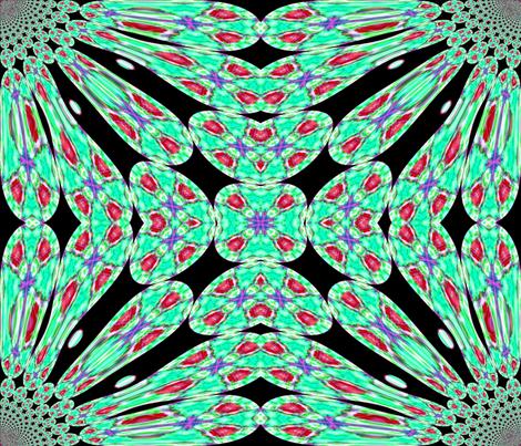 jeweled_tones fabric by charldia on Spoonflower - custom fabric
