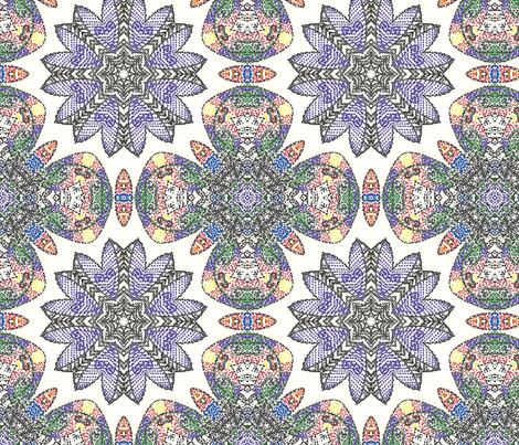 Pointilli Lace fabric by amarina on Spoonflower - custom fabric