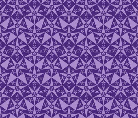 purple_star fabric by janiris on Spoonflower - custom fabric