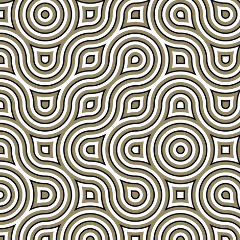 Vertigo Charcoal fabric by joanmclemore on Spoonflower - custom fabric