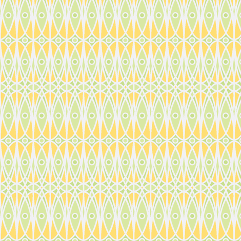 ©2011 Sweetcorn fabric by glimmericks on Spoonflower - custom fabric