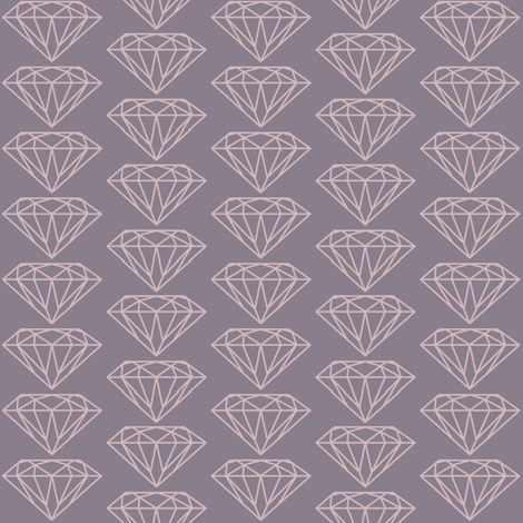 diamond lilac fabric by ravynka on Spoonflower - custom fabric