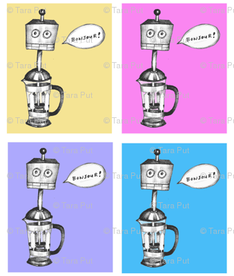 The French Press-bot