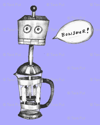 Robot French Press