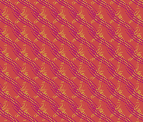 cat's scratches fabric by colourlovers on Spoonflower - custom fabric