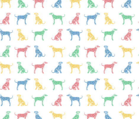Dalmatians fabric by pininkie on Spoonflower - custom fabric