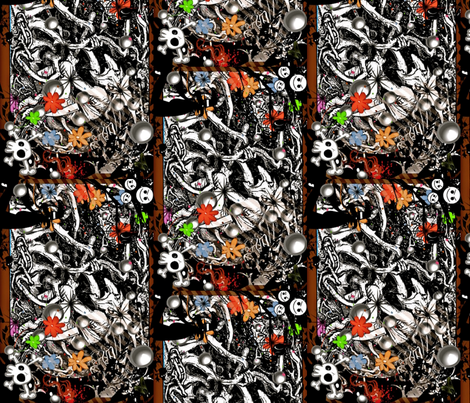 Hobgoblin-ed-ed fabric by whimzwhirled on Spoonflower - custom fabric