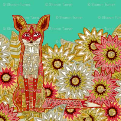 garden fox jade swatch