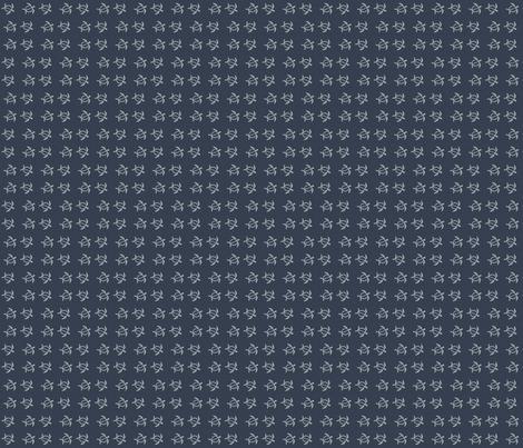 Deep Sea Denim Turtles fabric by may_flynn on Spoonflower - custom fabric