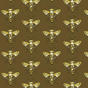 Clockwork Bee, Brown