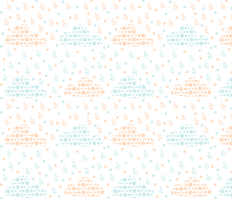 Nuages fabric by made_in_shina on Spoonflower - custom fabric