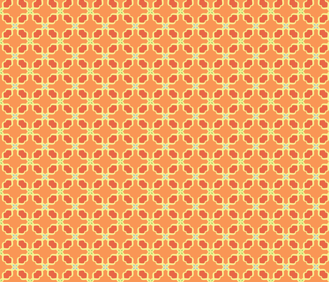 Lattice fabric by freshlemonsquilts on Spoonflower - custom fabric