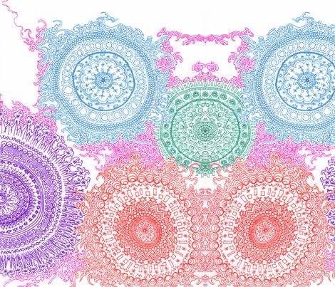 connecting fabric by nanuzhk on Spoonflower - custom fabric