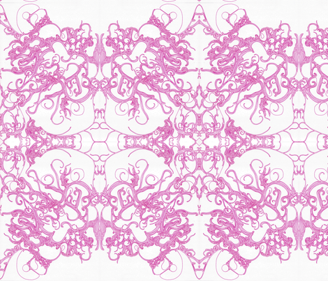 pretty_pink-ed fabric by nanuzhk on Spoonflower - custom fabric