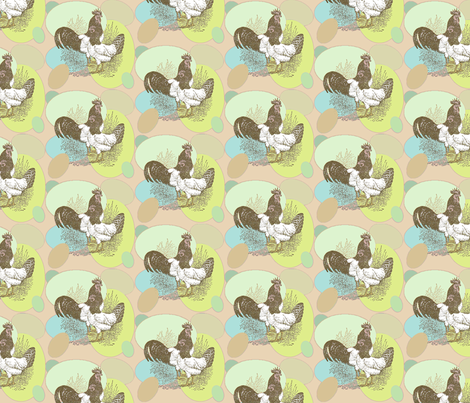 WhichCameFirst? fabric by Clothdog on Spoonflower - custom fabric