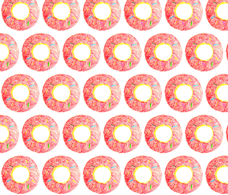 dotty donut fabric by jaja on Spoonflower - custom fabric