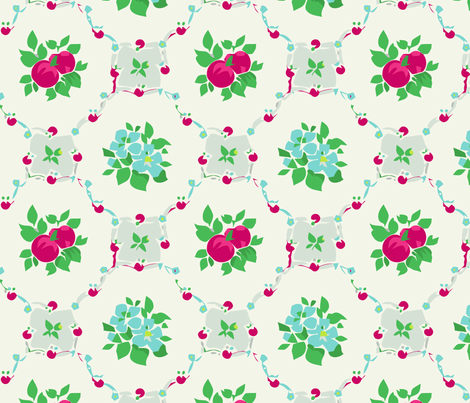 Apples fabric by myracle on Spoonflower - custom fabric